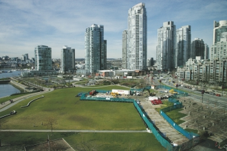 Michels was prime contractor for installation of a power cable duct under False Creek in conjunction with the Vancouver City Central Transmission Project.