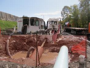 Michels used HDD to complete a 800 metre of 12-inch pipe installation under the St. Lawrence River.